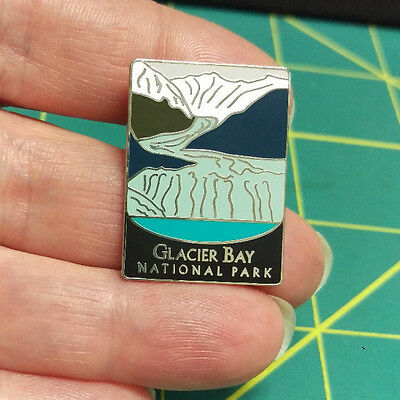 New Traveler Series Pin - Glacier Bay National Park Alaska Tie Tac Lapel Pin