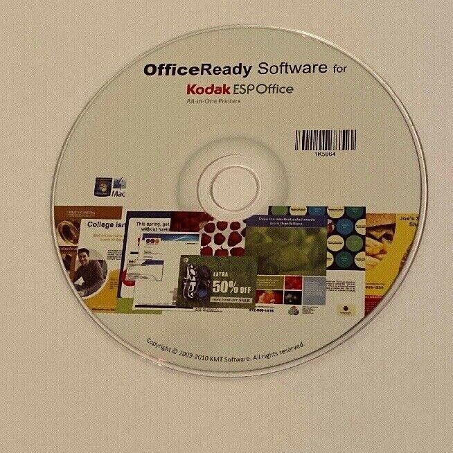 Kodak OFFICEREADY SOFTWARE FOR ESP OFFICE Printer #1K5864