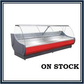NEW £2182+VAT 306cm (10 feet) Serve Over Counter Display Fridge OFELIA N2606