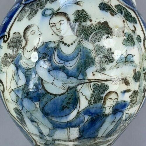 Fine Large 19th century Qajar Persian pottery vase