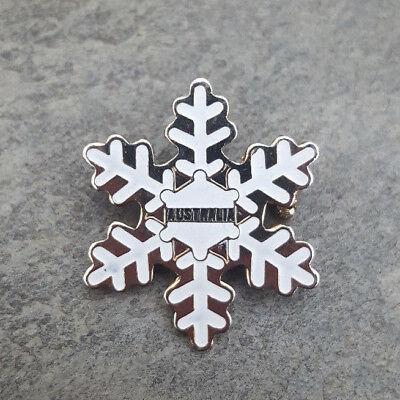 AUSTRALIA Snow Mountains White Snowflake Resorts Travel Skiing Ski Lapel Hat Pin