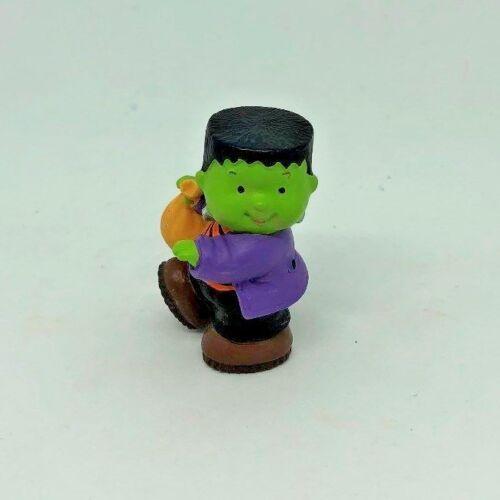 Hallmark Merry Miniatures Halloween Frankenstein Trick or Treater 1995