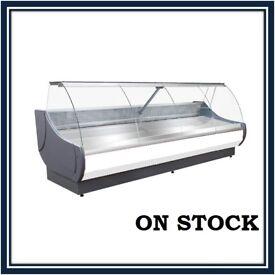 NEW £1932+VAT 258cm (8.5 feet) Serve Over Counter Display Fridge OFELIA N2607