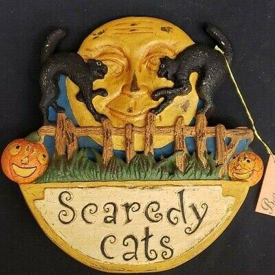Morgue Sale: Halloween Bethany Lowe Scaredy Cat Rocker Retired Figurin from 2003