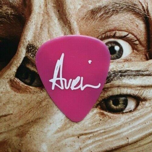 AVRIL LAVIGNE magenta guitar pick