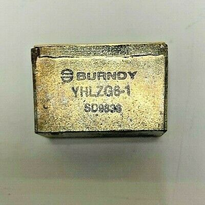 Souriau Burndy Terminal Block Yhlzg 6-1 Sd9802 Terminal Junction Module
