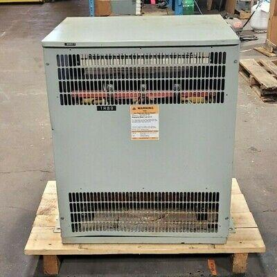 Hammond 118 Kva Dry Type Isolation Transformer 460 Hv 460y265 Lv Dr118yynt