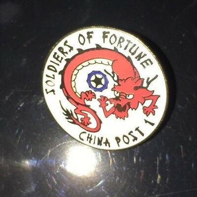 Soldiers of Forune China Post 1, 5 New Pins