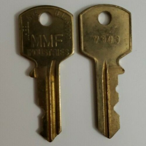 MMF Industries Replacement Key for Cash Drawer and POS - W, X, Y, Z Key Codes