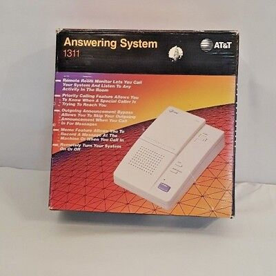 AT&T Remote Phone Answering System Machine 1311 With Microcassette