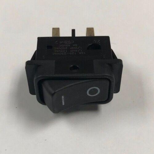 1 PCS DF62J12S2AHQA C&K  Rocker Switch DPST ON-OFF  Latched 6A 48VDC Thru-Hole