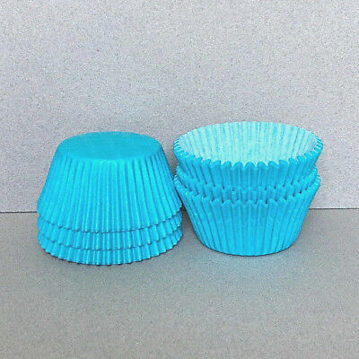 Light Aqua Cupcake Liners, Light Aqua Cupcake Wrappers, Light Aqua Baking Cups](Aqua Cupcake Liners)