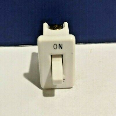 Leviton Ivory Snap-in Vintage Single Convenience Toggle Switch 714-00 On-off New