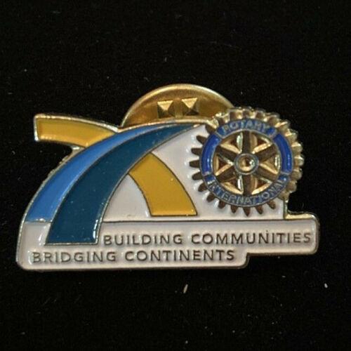 Rotary International Pin BUILDING BRIDGES BRIDGING CONTINENTS 2010-11 Theme