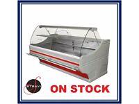 ***NEW £1625 + VAT253cm (8.3 feet)Serve Over Counter Display Fridge WEGA ON STOCK***