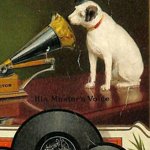 "Scarce January 1907 ""Victor Records Catalogue"" Nipper 120pp Catalog VGC"