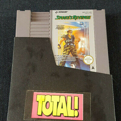 Nintendo NES Game Snake's Revenge, used for sale  Shipping to Nigeria