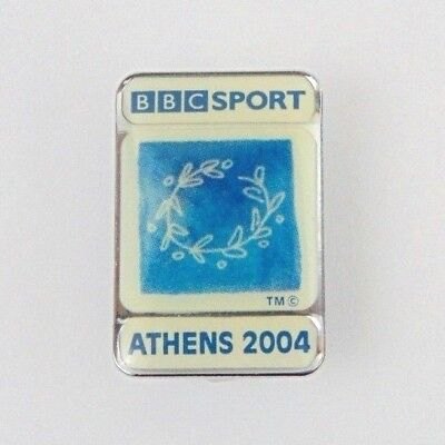 Bbc Sport Tv Official Athens 2004 Olympic Games  Pin Badge Pins Greece 04