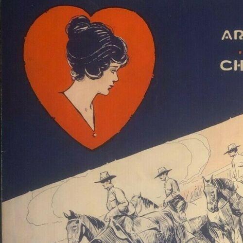 "Vintage WWI Sheet Music ""I"