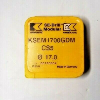 Kennametal 1x17mm Cutting Body Ksem-1700-gdm Cs5
