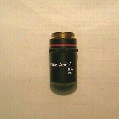 Nikon Plan Apo 4x0.16 160- Finite Microscope Objective