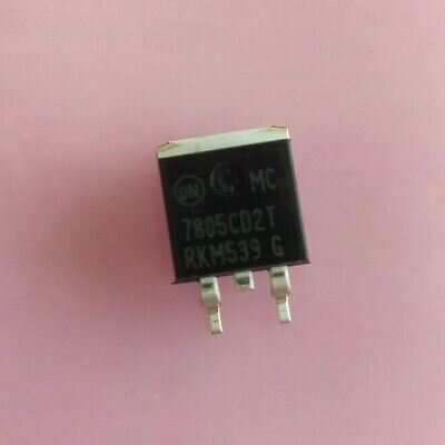 10 Pcs L7805cd2t To-263 On Semiconductor Lm7805 7805 L7805 Smd New