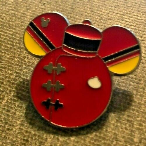DISNEY TRADING PIN - GREAT MOVIE RIDE RED UNIFORM MICKEY MOUSE HEAD SHAPE