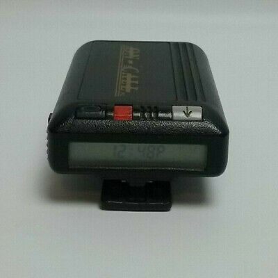 Vintage 1990's Motorola Pager Beeper with Clip Bravo Plus Tested Working 90's