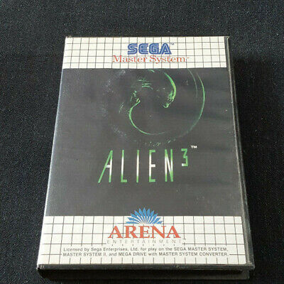 SEGA Master System Boxed Game Alien 3 Mastersystem, used for sale  Shipping to Nigeria