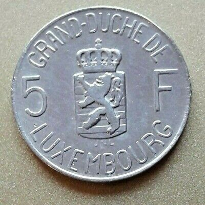 5 Francs 1962   Luxembourg