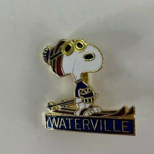 Waterville Valley Resort Vintage Skiing Ski Pin NH Souvenir Travel Lapel