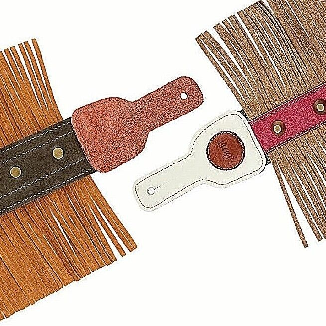 """Mugig Guitar strap 3"""" wide double thicker real leather guita"""