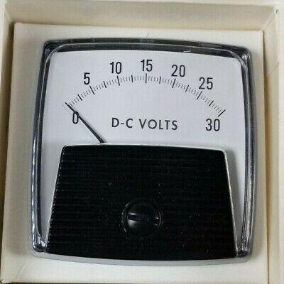 New Yokogawa 250-220-nlnl Dc Voltmeter Gauge 0-30 Dc Volts