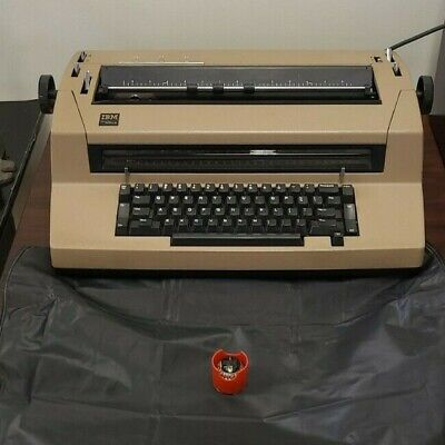 Ibm Correcting Selectric Iii Typewriter Cover Additional Font