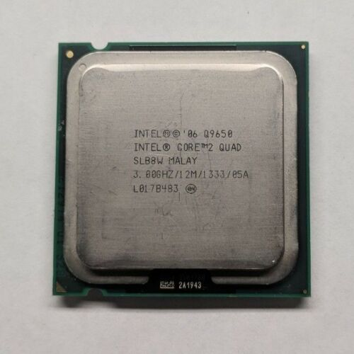 Intel Core 2 Quad Q9650 3.0 GHz 12M SLB8W 4-Core Processor LGA 775 CPU 95W