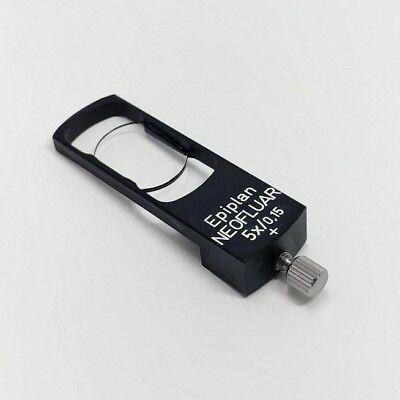Zeiss Microscope Dic Prism Slider For Epiplan Epi Neofluar 5x0.15 Objective