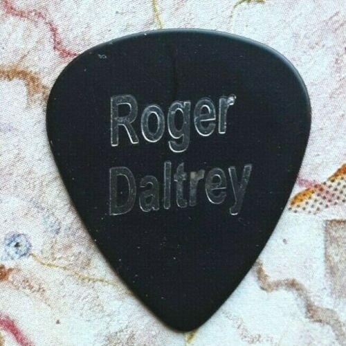 THE WHO Roger Daltrey black guitar pick