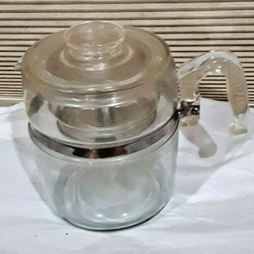 Vintage Pyrex 9 Cup Coffee Percolator 7759 B Complete