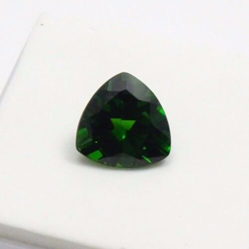 3.55ct Russian Chrome Diopside -10x10mm - Trillion - Loose Gemstone