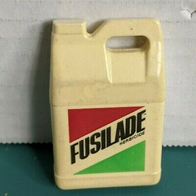 Vintage Tape Measure Fusilade Herbicide Jug Shape