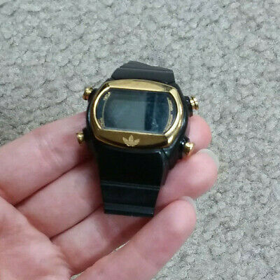 Adidas Candy Black and Gold Watch Stainless Steel Water Resistant ADH1740