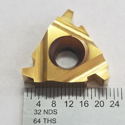 Valenite 22 Il 6 Acme Vc929 Tin Carbide Milling Insert Set Of 10 11a-c0399