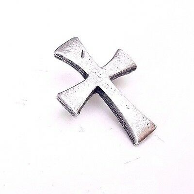Templar Cross Handcrafted in English Pewter Lapel Pin Badge + Gift Bag