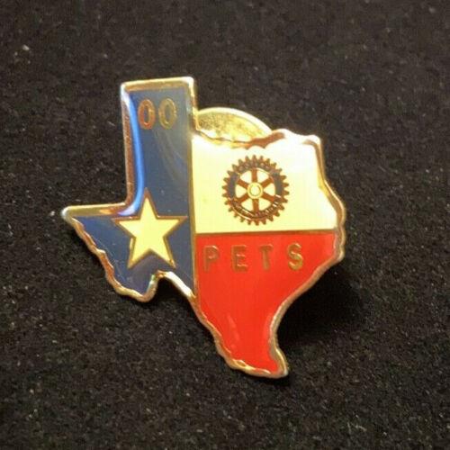 Rotary International Pin PETS 00 TEXAS - President Elect Training Seminar