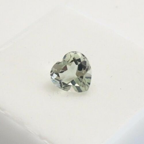 Prasiolite - 2.1ct+ - 9mm - Heart Shape - Loose Gemstone