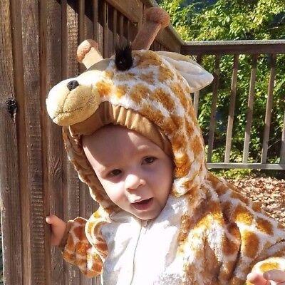 Giraffe soft plush Costume Jacket 24 months/ 2T Halloween Dress up  Boy or Girl - Giraffe Halloween Costume Girl