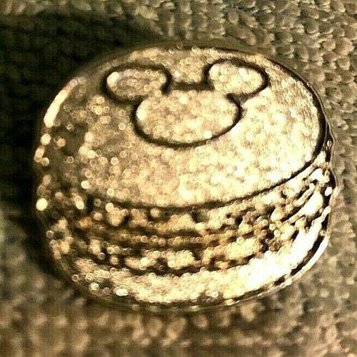 DISNEY TRADING PIN - HIDDEN MICKEY MACAROON SILVER CHASER PIN