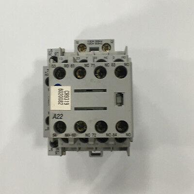 Allen Bradley 700-cf400d 24 Vdc Relay Contactors 25 Amp W 100-f A