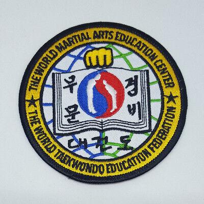 THE WORLD MARTIAL ARTS EDUCATION CENTER Teakondo Federation TKD Souvenir Patch Education Center Arts