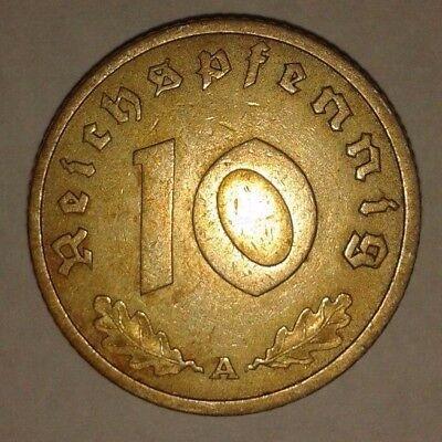 10 Reichspfennig 1938 A - Deutsches Reich